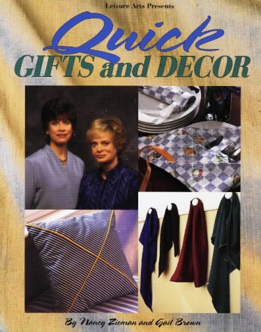 9780848716790: Quick Gifts and Décor (Sewing with Nancy)