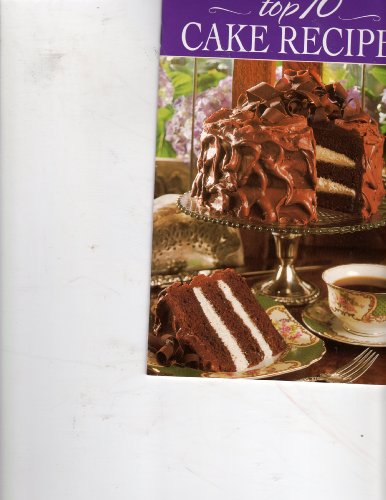 Top 10 Cake Recipes (0848717619) by [???]