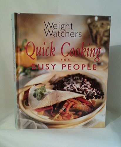 9780848718558: Weight Watchers Quick Cooking for Busy People
