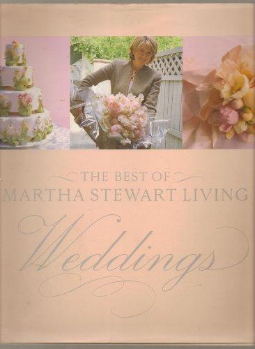 9780848723521: The Best of Martha Stewart Living Weddings 1