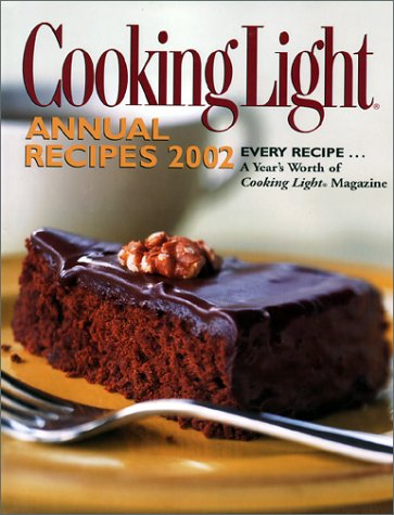 9780848724504: Cooking Light: Annual Recipes 2002