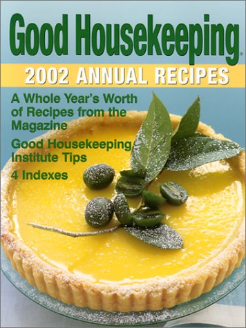 9780848725532: Good Housekeeping 2002 Annual Recipes