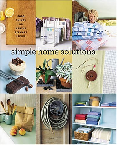 9780848728342: Martha Stewart Living Simple Home Solutions