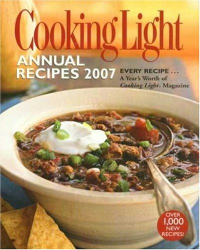 Cooking Light Annual Recipes 2007