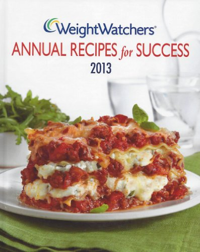 9780848736392: Weight Watchers Annual Recipes for Success 2013