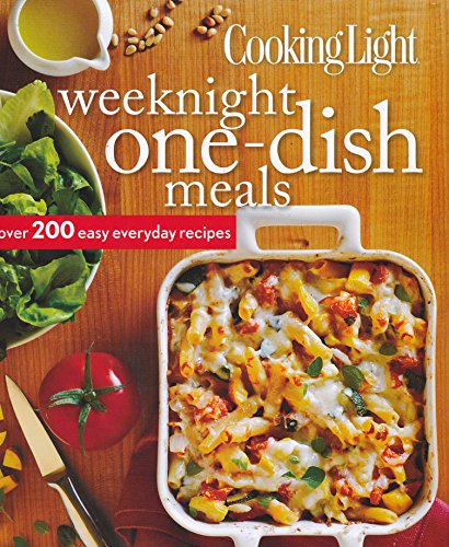9780848736972: Cooking Light Weeknight One-dish meals