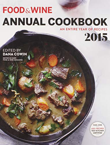 9780848746483: Food&Wine Annual Cookbook - an Entire year of Recipes 2015