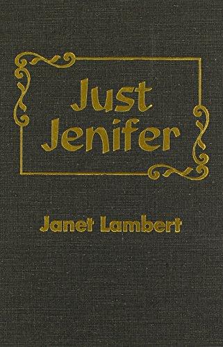 Just Jenifer: Janet Lambert