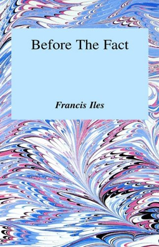 9780848801717: Before the Fact : A Murder Story for Ladies