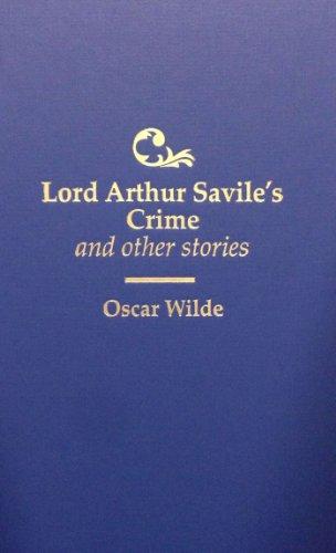 Lord Arthur Savile's Crime: Wilde, Oscar