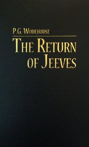 Return of Jeeves: P. G. Wodehouse
