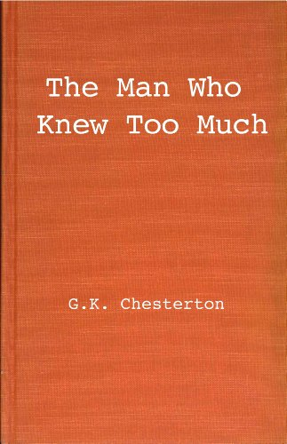 9780848803506: The Man Who Knew Too Much