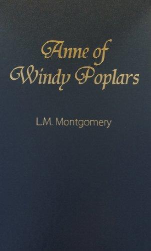 9780848805869: Anne of Windy Poplars (Anne of Green Gables Novels)