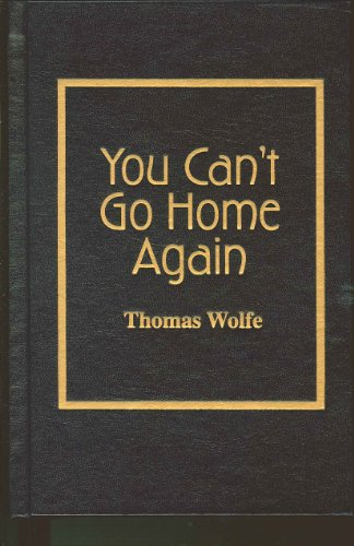 9780848806835: You Can't Go Home Again