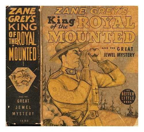 9780848810221: The King of the Royal Mounted and the Great Jewel Mystery