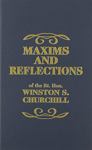 9780848817480: Maxims and Reflections