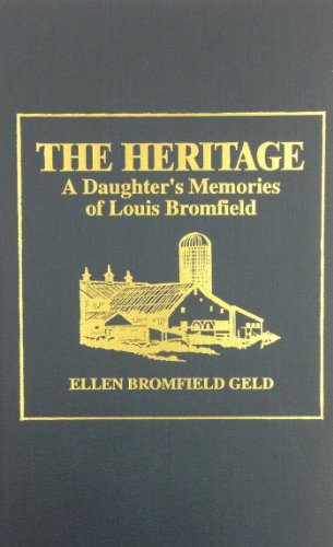 9780848817602: The Heritage: A Daughter's Memories of Louis Bromfield