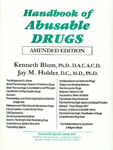 9780848818593: Handbook of Abusable Drugs : Amended