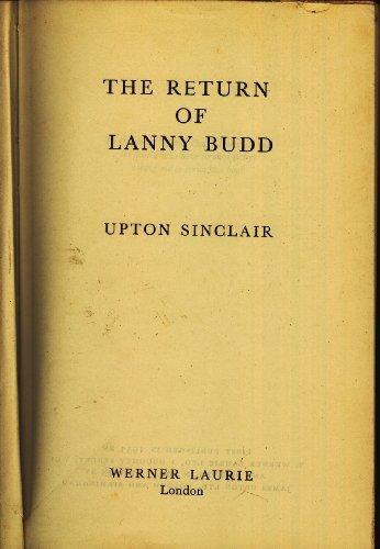 9780848821135 Return Of Lanny Budd Abebooks Upton Sinclair
