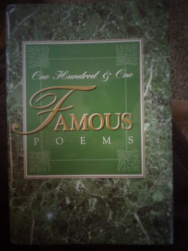 9780848822385: One Hundred and One Famous Poems