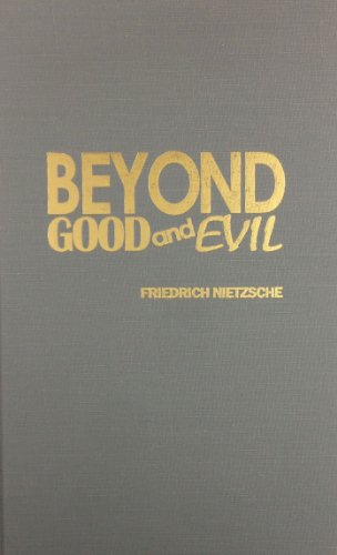 9780848824747: Beyond Good and Evil. Prelude to a Philosophy of the Future