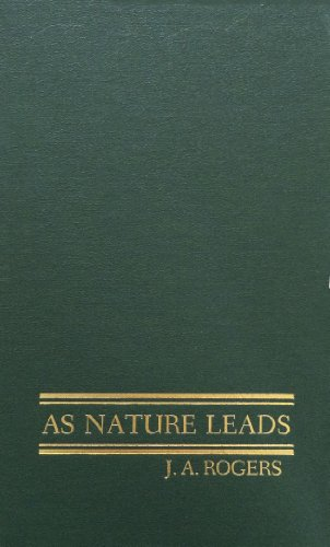 9780848832926: As Nature Leads
