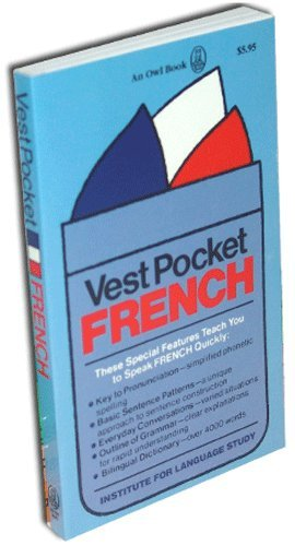 9780848951023: Vest Pocket French (Cortina Language Series)