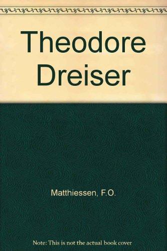 9780849268236: Theodore Dreiser