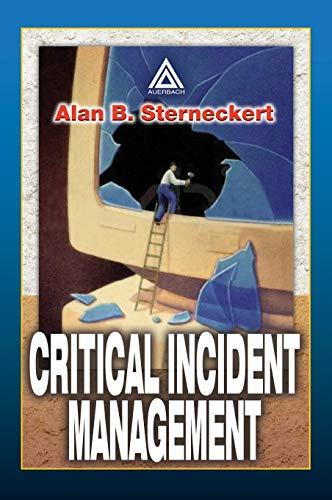 9780849300103: Critical Incident Management