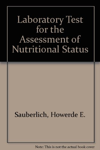 9780849301216: Lab Tests for the Assessment of Nutritional Status (Modern Nutrition)