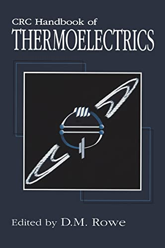 CRC Handbook of Thermoelectrics: Rowe, David Michael