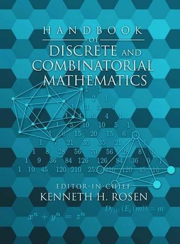 9780849301490: Handbook of Discrete and Combinatorial Mathematics (Discrete Mathematics and Its Applications)
