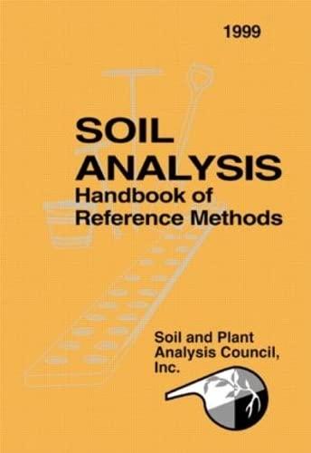 9780849302053: Soil Analysis Handbook of Reference Methods