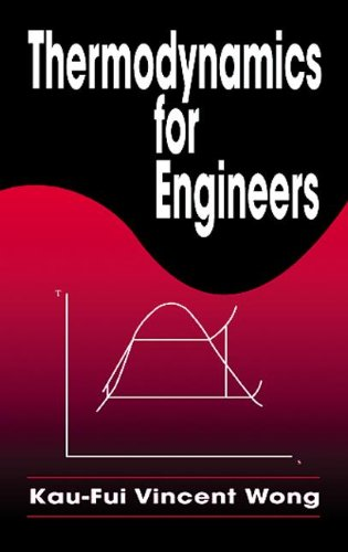 9780849302329: Thermodynamics for Engineers (Mechanical and Aerospace Engineering Series)