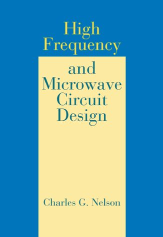 9780849302497: High Frequency and Microwave Circuit Design