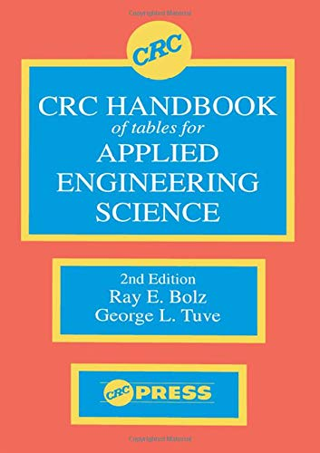 9780849302527: CRC Handbook of Tables for Applied Engineering Science