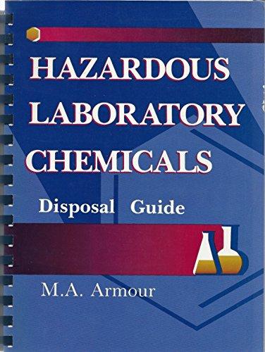 9780849302657: Hazardous Laboratory Chemicals: A Disposal Guide