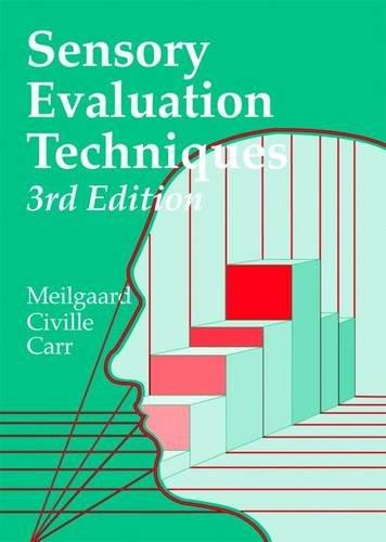 Sensory Evaluation Techniques, Third Edition: Meilgaard, Morten C.;