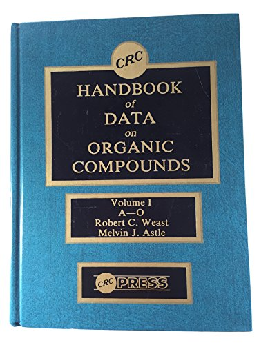 9780849304002: Hdbk of Data on Organic Compounds SET