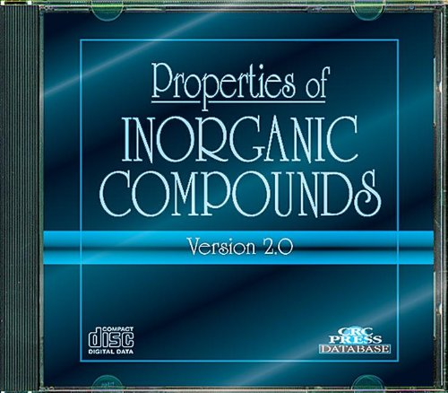 9780849304071: Properties of Inorganic Compounds: Version 2.0: An Electronic Database