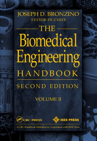 9780849304620: Biomedical Engineering Handbook, Volume II