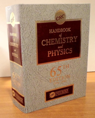 9780849304651: Handbook of Chemistry and Physics, 65th Edition