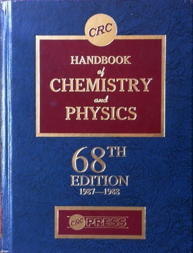 9780849304682: Handbook of Chemistry and Physics, 68th Edition