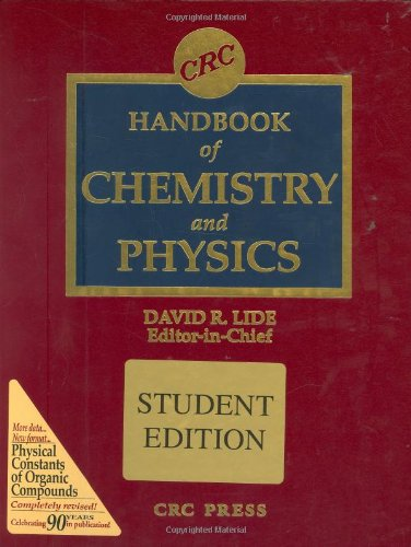9780849304842: CRC Handbook of Chemistry and Physics, 84th Edition