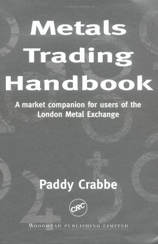 9780849305184: Metals Trading Handbook