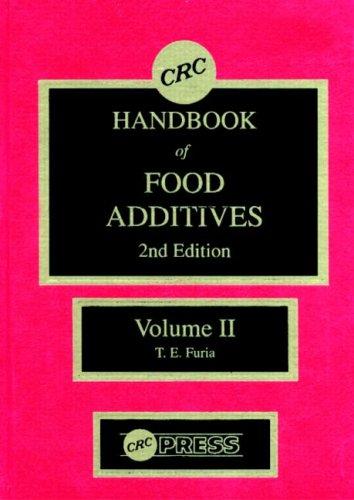 9780849305436: CRC Handbook of Food Additives, Second Edition, Volume II: v. 2