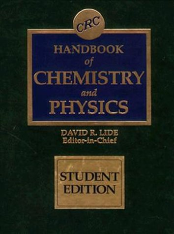 9780849305962: CRC Handbook of Chemistry and Physics: Special Student Edition, 77th Edition