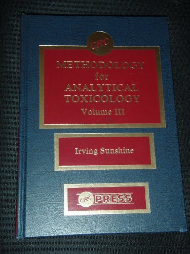 9780849307188: 3: Methodology for Analt Toxicology