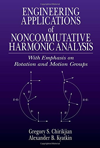 9780849307485: Engineering Applications of Noncommutative Harmonic Analysis: With Emphasis on Rotation and Motion Groups