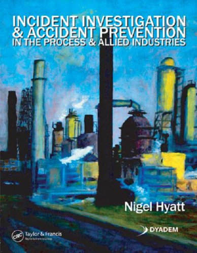 9780849307782: Incident Investigation and Accident Prevention in the Process and Allied Industries